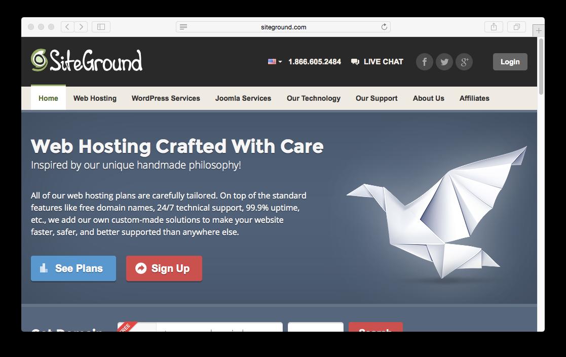 SiteGround | Grav Documentation